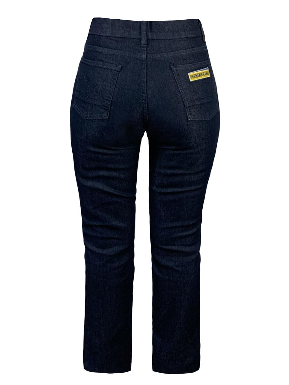 Calça jeans feminina personalizada bolso